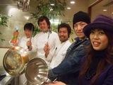 キッチンにて(Koh&Emi)